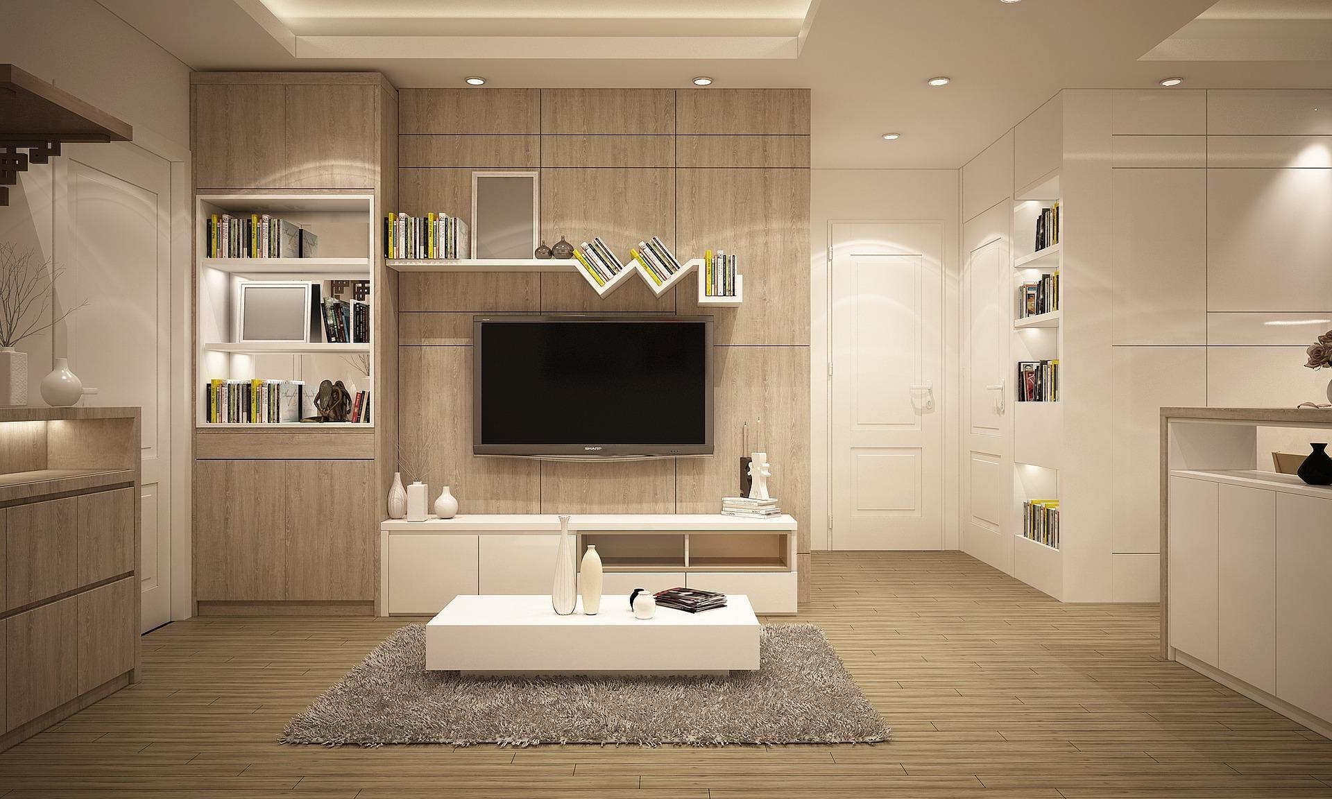 Sala de estar de casa